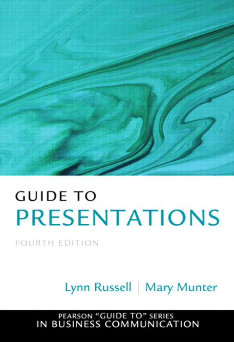 Guide to Presentations, CourseSmart eTextbook, 4th Edition