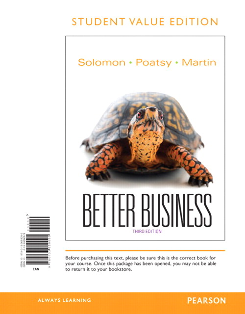Better Business, Student Value Edition, 3rd Edition