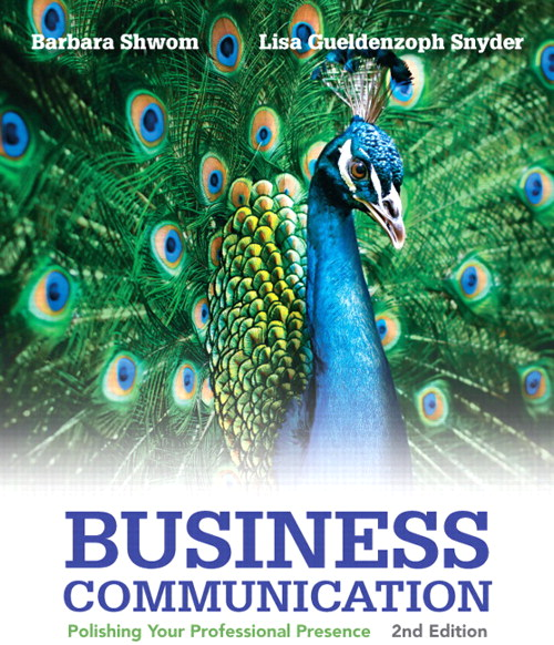 Business Communication: Polishing Your Professional Presence, CourseSmart eTextbook, 2nd Edition