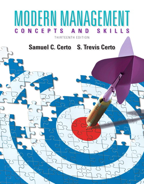 Modern Management: Concepts and Skills, 13th Edition