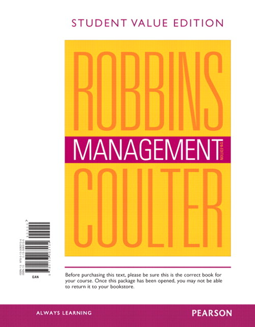 Management, Student Value Edition, 12th Edition