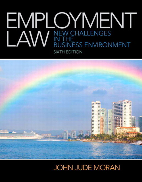 Employment Law, CourseSmart eTextbook, 6th Edition