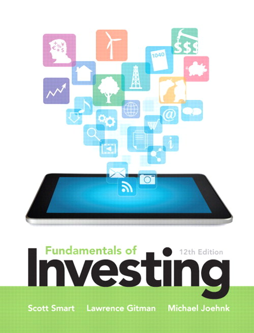 Fundamentals of Investing, CourseSmart eTextbook, 12th Edition