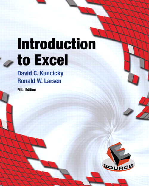 Introduction to Excel, CourseSmart eTextbook, 5th Edition