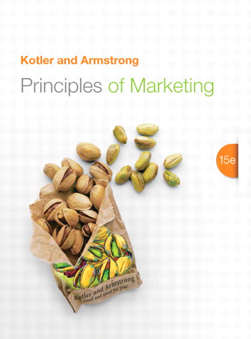 Principles of Marketing, 15th Edition
