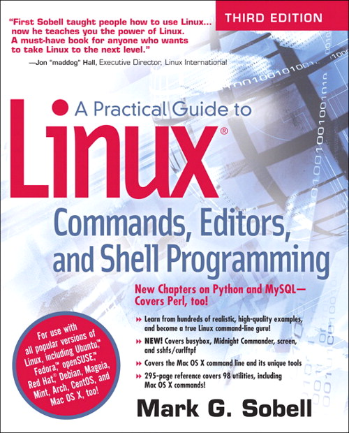 Practical Guide to Linux Commands, Editors, and Shell Programming, A, CourseSmart eTextbook, 3rd Edition