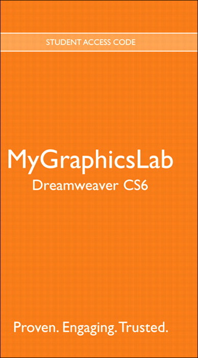 MyGraphicsLab Dreamweaver CS6 Course (access code required)