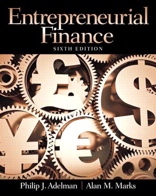 Entrepreneurial Finance, CourseSmart eTextbook, 6th Edition