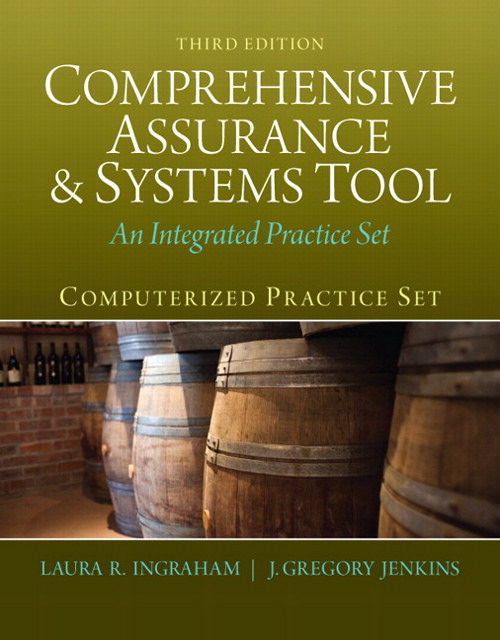 Computerized Practice Set for Comprehensive Assurance & Systems Tool (CAST), 3rd Edition