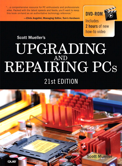 Upgrading and Repairing PCs, CourseSmart eTextbook, 21st Edition