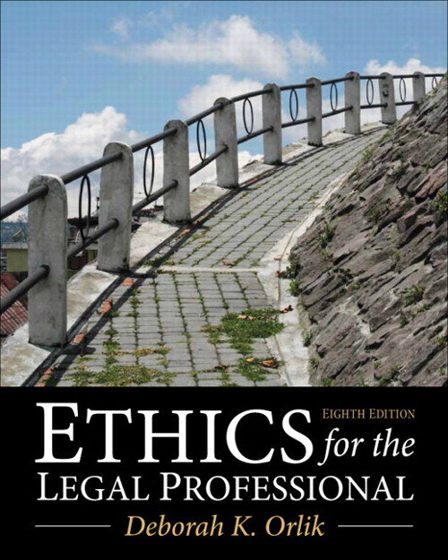 Ethics for the Legal Professional, CourseSmart eTextbook, 8th Edition