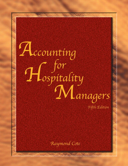 Accounting for Hospitality Managers with Answer Sheet (AHLEI), 5th Edition