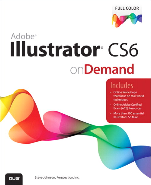 Adobe Illustrator CS6 on Demand, CouseSmart eTextbook