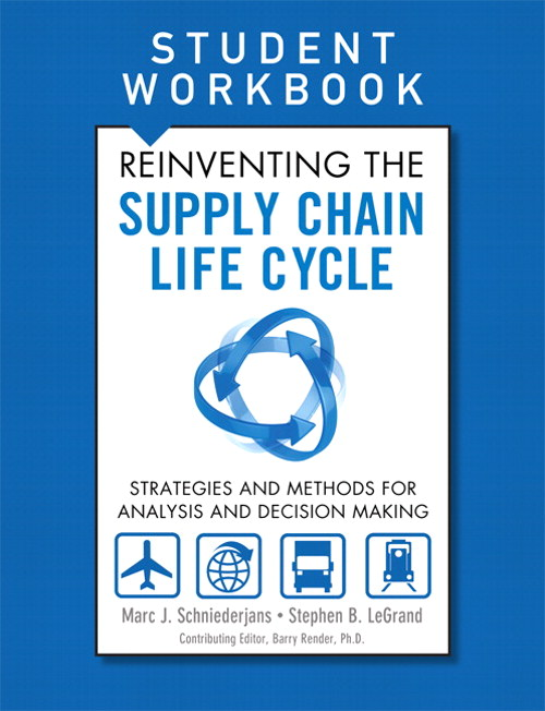 Reinventing the Supply Chain Life Cycle, Student Workbook, CourseSmart eTextbook