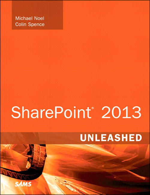 SharePoint 2013 Unleashed, CourseSmart eTextbook