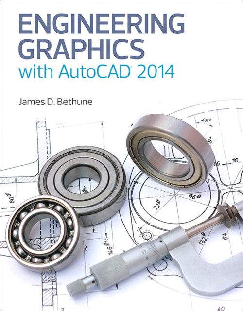 Engineering Graphics with AutoCAD 2014, CourseSmart eTextbook