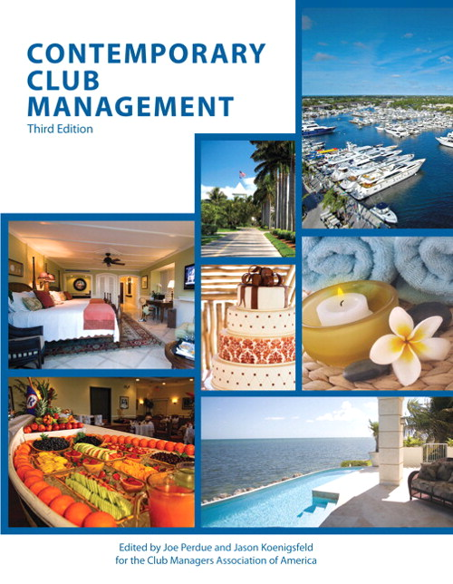 Contemporary Club Management (AHLEI), CourseSmart eTextbook, 3rd Edition