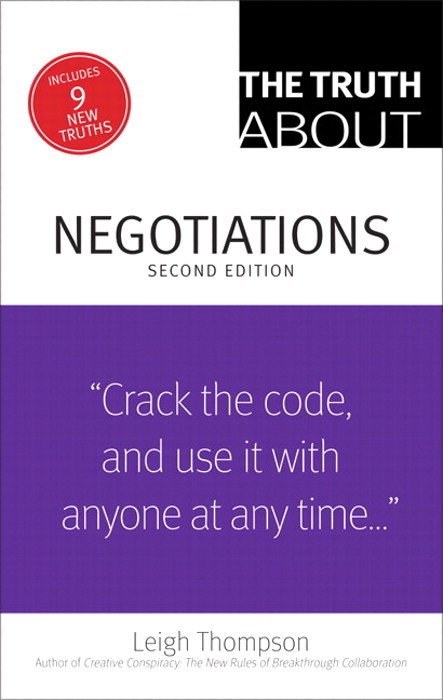 Truth About Negotiations, CourseSmart eTextbook, The, 2nd Edition