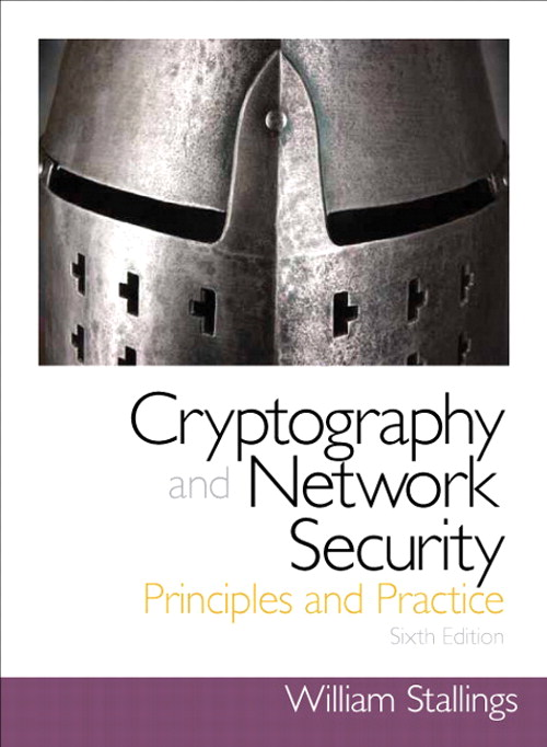 Cryptography and Network Security: Principles and Practice, CourseSmart eTextbook, 6th Edition