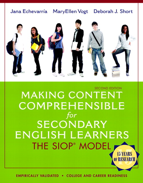 Making Content Comprehensible for Secondary English Learners: The SIOP Model, CourseSmart eTextbook, 2nd Edition