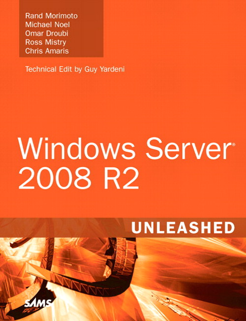 Windows Server 2008 R2 Unleashed, CourseSmart eTextbook