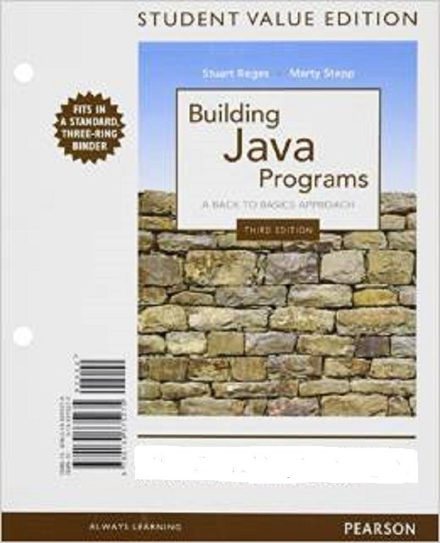 Building Java Programs, Student Value Edition, 3rd Edition