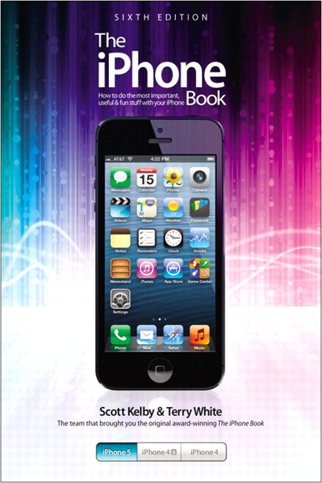 iPhone Book, The: Covers iPhone 5, iPhone 4S, and iPhone 4,CourseSmart eTextbook, 6th Edition