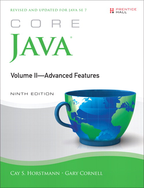 Core Java, Volume II--Advanced Features, CourseSmart eTextbook, 9th Edition