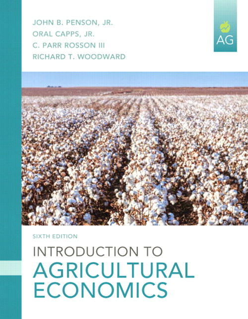 Introduction to Agricultural Economics, CourseSmart eTextbook, 6th Edition