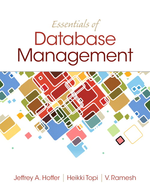 Essentials of Database Management, CourseSmart eTextbook