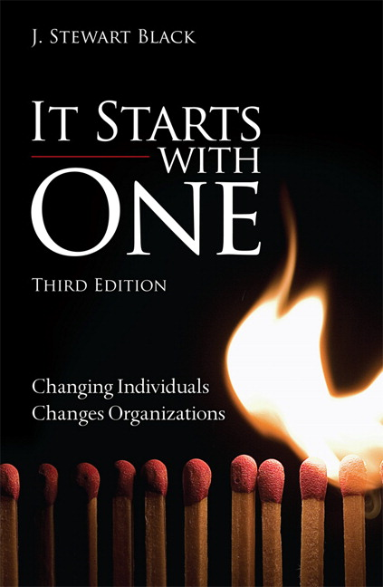 It Starts with One: Changing Individuals Changes Organizations, CourseSmart eTextbook, 3rd Edition