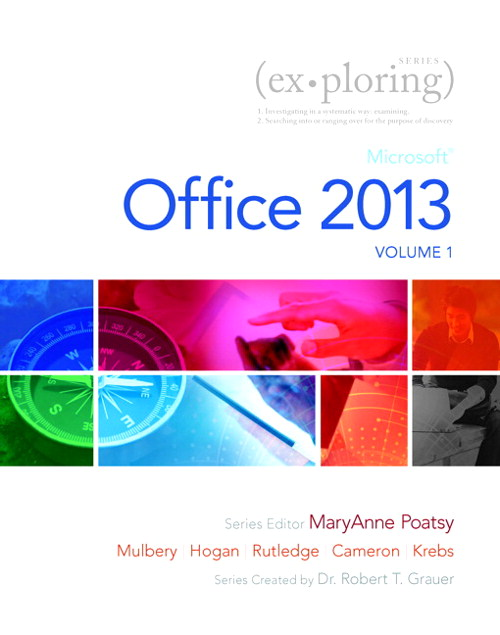 Exploring Microsoft Office 2013, Volume 1, CourseSmart eTextbook