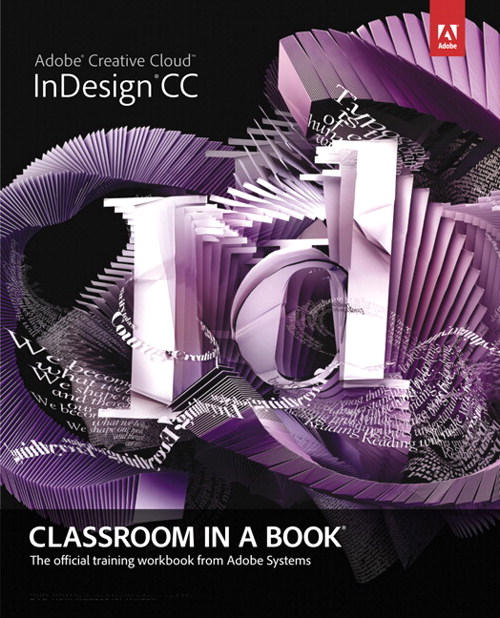 Adobe InDesign CC Classroom in a Book, CourseSmart eTextbook