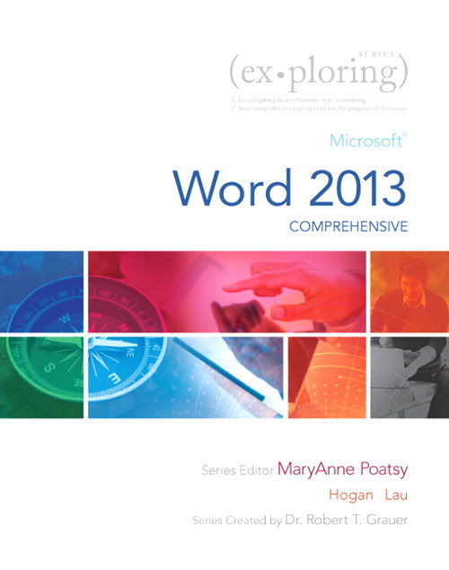 Exploring Microsoft Word 2013, Comprehensive, CourseSmart eTextbook