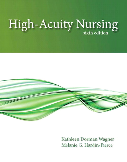 High-Acuity Nursing, CourseSmart eTextbook, 6th Edition