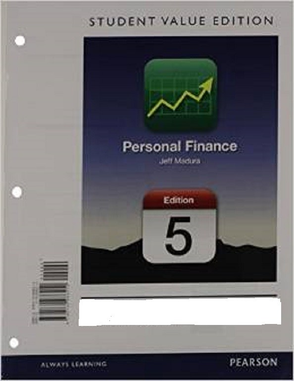 Personal Finance, Student Value Edition Plus NEW MyFinanceLab with Pearson eText --- Access Card Package, 5th Edition