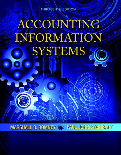 Accounting Information Systems, CourseSmart eTextbook, 13th Edition