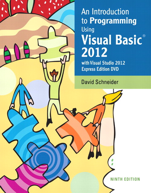 Introduction to Programming Using Visual Basic 2012, CourseSmart eTextbook, 9th Edition