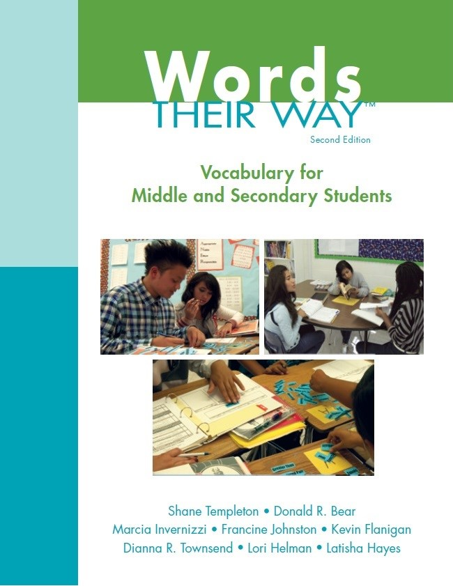 Vocabulary Their Way: Word Study with Middle and Secondary Students, 2nd Edition
