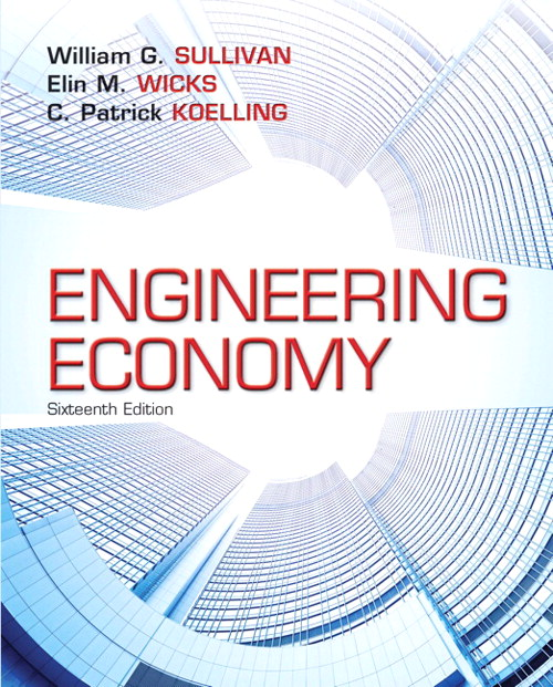 Engineering Economy, CourseSmart eTextbook, 16th Edition