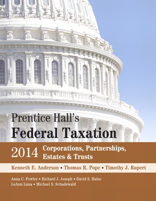 Prentice Hall's Federal Taxation 2014 Corporations,  Partnerships, Estates & Trusts, 27th Edition