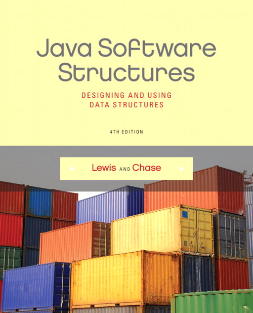 Java Software Structures: Designing and Using Data Structures, CourseSmart eTextbook