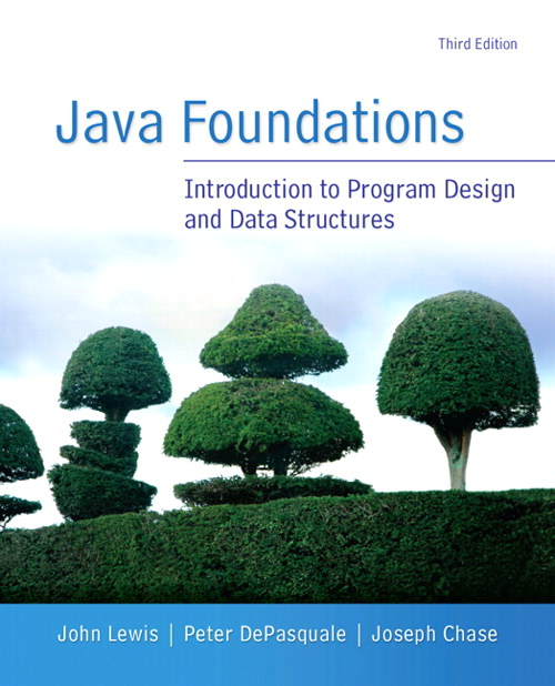 Java Foundations, CourseSmart eTextbook, 3rd Edition