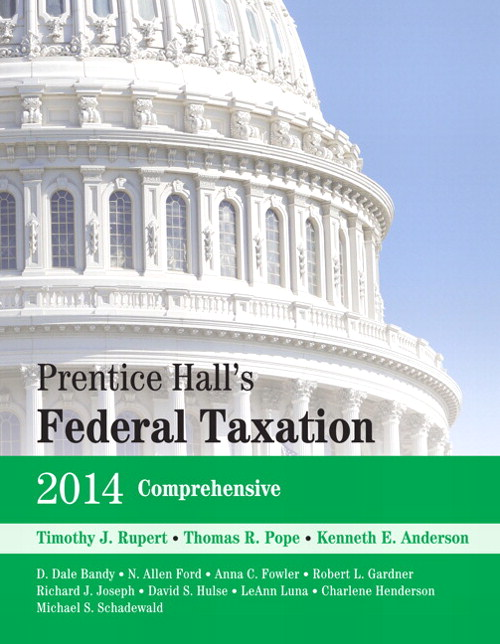 Prentice Hall's Federal Taxation 2014 Comprehensive, 27th Edition