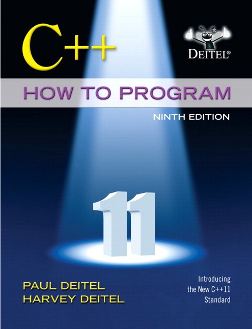 C++ How to Program plus MyProgrammingLab with Pearson eText -- Access Card Package, 9th Edition