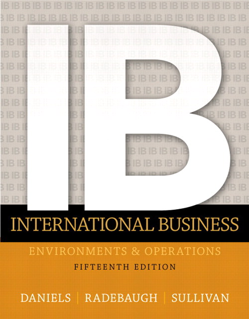 International Business, CourseSmart eTextbook, 15th Edition