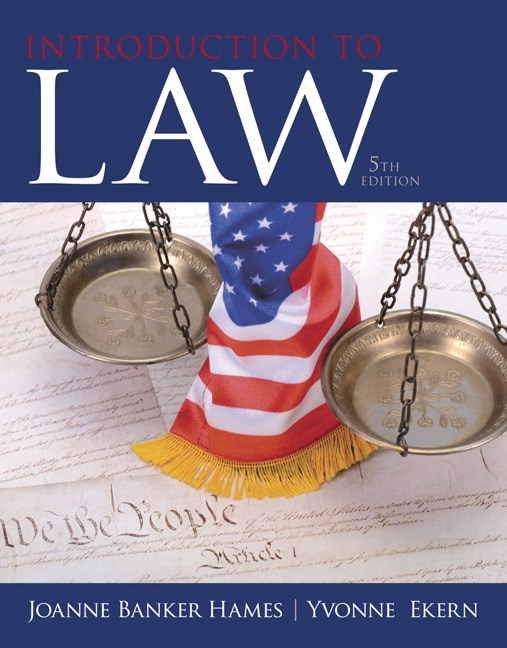 Introduction to Law, 5th Edition