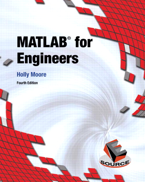 MATLAB for Engineers, CourseSmart eTextbook, 4th Edition