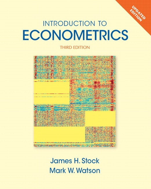 Introduction to Econometrics, Update, 3rd Edition