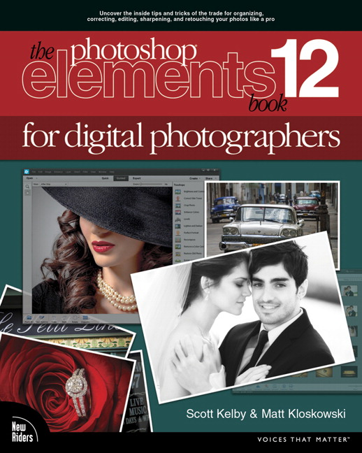 Photoshop Elements 12 Book for Digital Photographers, CourseSmart eTextbook, The